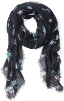 Banana Republic Watercolor Floral Scarf