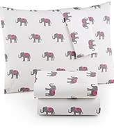 Martha Stewart Bedsheet Set- Elephant/Trunk Show-Cal King