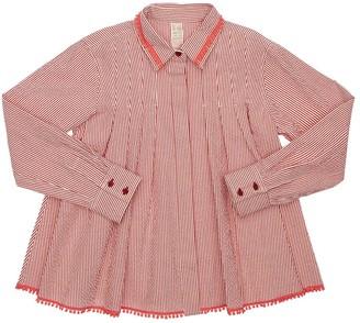 Tia Cibani Striped Cotton Shirt