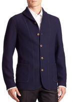 Giorgio Armani Modern-Fit Textured Jacket