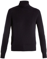 Prada Roll-neck cashmere-knit sweater