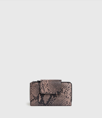 AllSaints Daubeney Leather Wallet