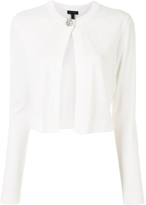 Escada Open-Front Cropped Cardigan