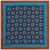Eton Medallion Wool-silk Pocket Square