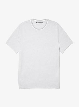 Michael Kors Birdseye Cotton T-Shirt
