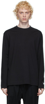 Y-3 Black Graphic CH2 Long Sleeve T-Shirt