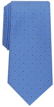Club Room Men's Slim Dot Tie, Created for Macy's