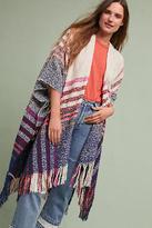 Anthropologie Laramie Plaid Kimono