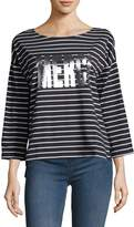 French Connection Women's Merci Stripe Tee