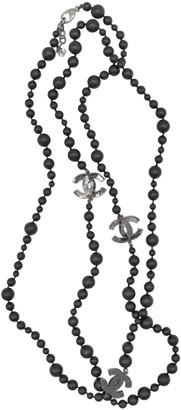 Chanel \N Black Ceramic Long necklaces