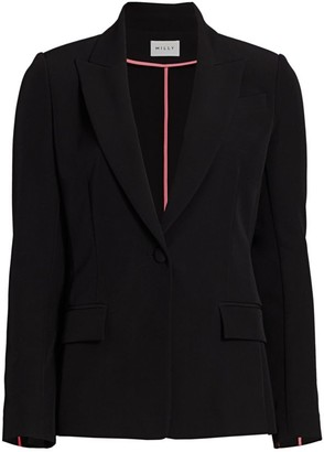 Milly Cady Neon Piped Blazer