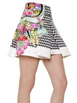 Manish Arora Printed Duchesse Box Skirt
