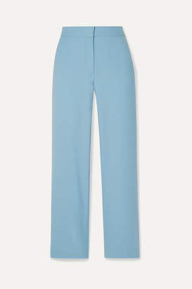 Victoria Victoria Beckham Victoria, Victoria Beckham - Twill Straight-leg Pants - Sky blue