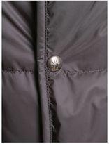 Moncler Gamme Bleu Grey Nylon Padded Jacket