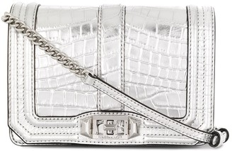 Rebecca Minkoff crocodile effect crossbody bag