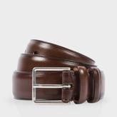 Paul Smith Men's Classic Brown Leather Suit Belt