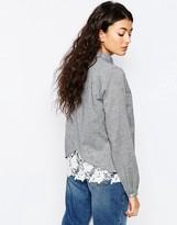 Vila Trade Lace Trim Shirt