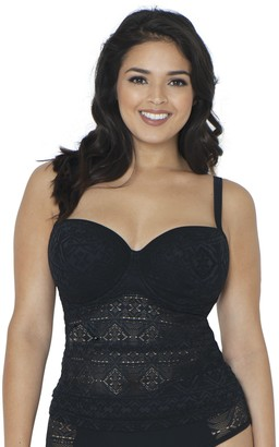 Curvy Kate Women's Rush Padded BalconyTankini