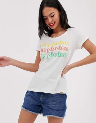 Blend She slogan t-shirt-White