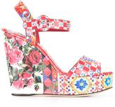 Dolce & Gabbana Bianca wedge sandals
