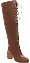 Ann Creek Calai Lace Up Over the Knee Riding Boot (Women's)