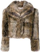 Stella McCartney Fur Free Fur coat - women - Cotton/Modacrylic/Polyester/Viscose - 38