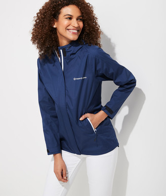 Vineyard Vines Stow-and-Go Rain Jacket