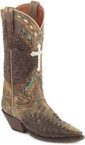 Dan Post Anthem Suede Womens Cowboy Boots