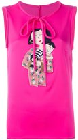 Dolce & Gabbana family patch tank top