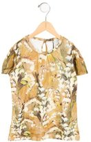 Dolce & Gabbana Girls' Printed Short Sleeve Top w/ Tags