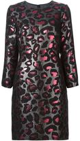 Marc by Marc Jacobs leopard lurex brocade dress