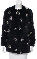 Thakoon Fur Printed Jacket w/ Tags