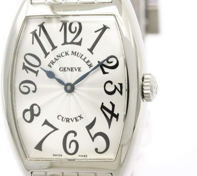 Franck Muller Trinocerbex 7502qz Stainless Steel & Leather Automatic 36mm Womens Watch
