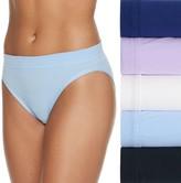 Fruit of the Loom Women's Signature Cotton Stretch 5-Pack + 1 Bonus Bikini Panty 6DCSSBK