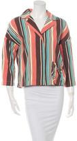 Marni Long Sleeve Striped Jacket