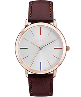 Paul Smith Men's Ma Leather Strap Watch