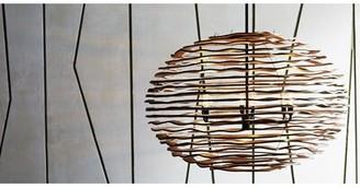 "Arteriors Rabari 6-Light Candle Style Globe Chandelier Size: 24"" H x 35"" W x 35"" D"