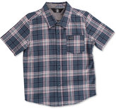 Volcom Kane Plaid Shirt, Big Boys (8-20)