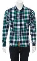 Billy Reid Tartan Button-Up Shirt