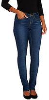 As Is SkinnyJeans 2 Petite Slim Boot Cut Jeans