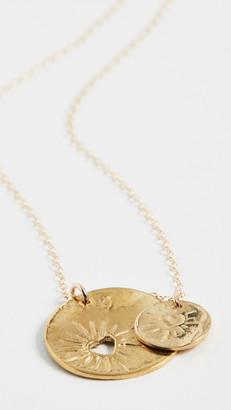 Maison Monik Double Heart Necklace