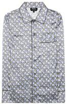 A.P.C. Glenn printed satin blouse