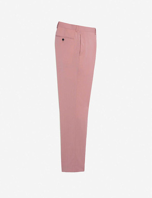 Sandro Mid-rise wool trousers