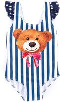 Mc2 Saint Barth Kids - striped print swimsuit - kids - Polyamide/Spandex/Elastane - 24 mth