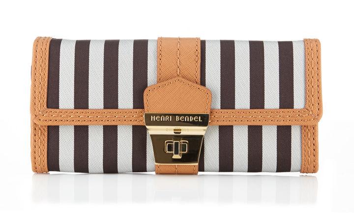 Henri Bendel Miss Bendel Slim Continental Wallet