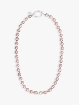 Claudia Bradby Rice Pearl Necklace