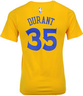 adidas Kevin Durant Golden State Warriors Name And Number T-Shirt, Big Boys (8-20)