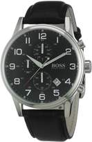 HUGO BOSS Men's 1512448 Leather Quartz Watch