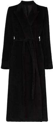Totême Wraparound Long Wool Coat