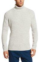 Alex Stevens Men's Marled Turtleneck Sweater